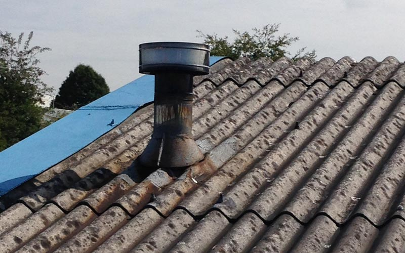 Asbestos Roofing Repairs Removal Coverclad Services Ltd