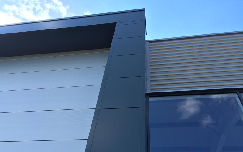 Kingspan wall cladding in Birmingham