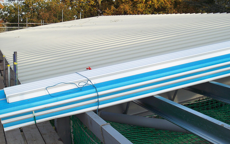 Installing industrial roofing in Birmingham