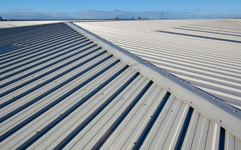 Kingspan insulated roofing