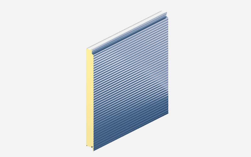 Kingspan Convex wall panel
