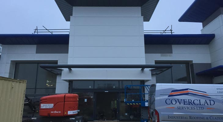 Tower Cladding And Industrial Roofing In Swansea