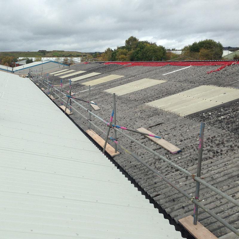 Asbestos Roofing in Dudley