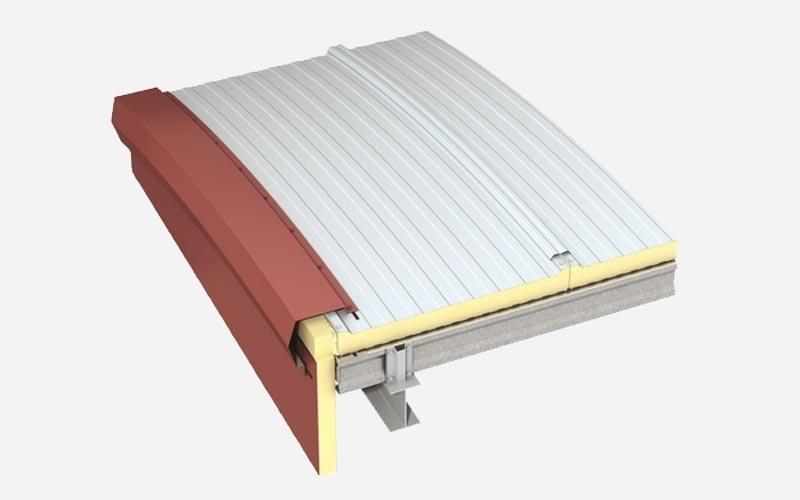 Kingspan Curved roof panel