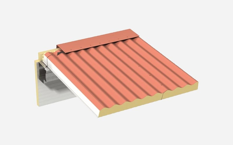 Kingspan Sinusoidal roof panel