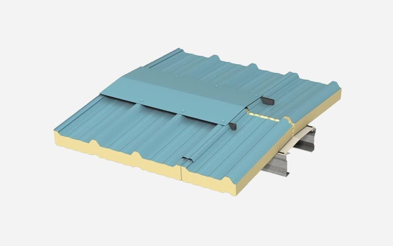 Kingspan Trapezoidal Secret-Fix roof panel