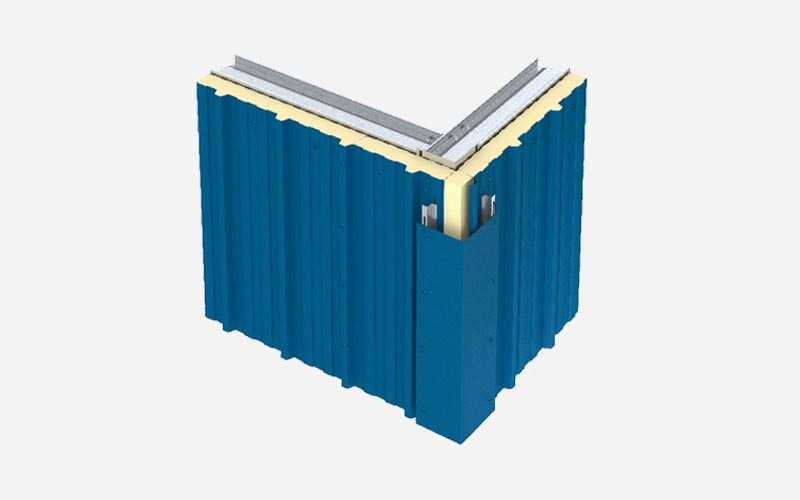 Kingspan Trapezoidal wall panel