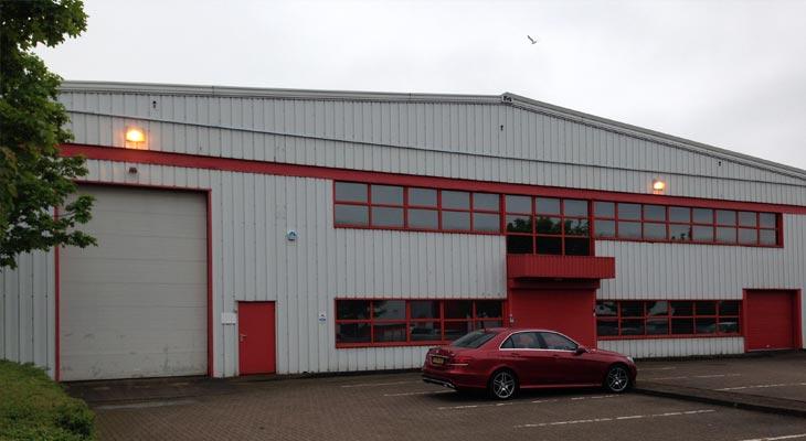 Industrial unit in Tipton near Birmingham