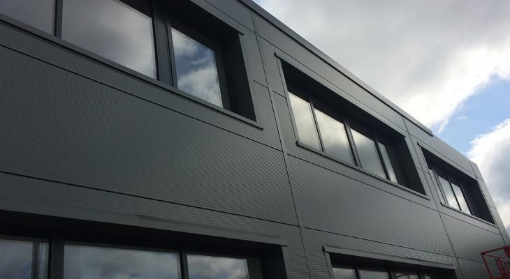Kingspan Wall Cladding Installers In Wrexham Coverclad