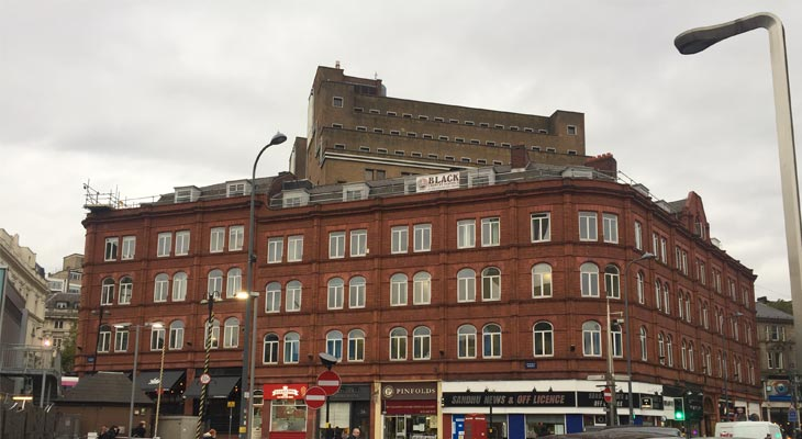Office building in Birmingham in need of refurbishment