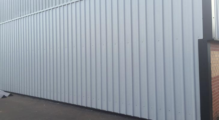 Replace Wall Cladding Sheets In Birmingham Coverclad