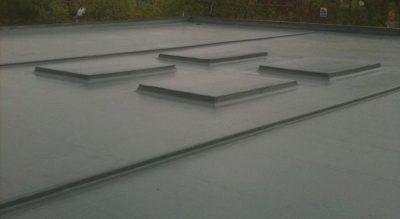 GRP flat roofing installation in Oldbury