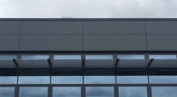 Kingspan wall cladding in Wolverhampton