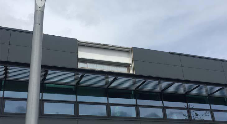 Reinstalling Kingspan composite panels