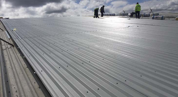 Industrial Roofing Works In Wolverhampton Coverclad Services