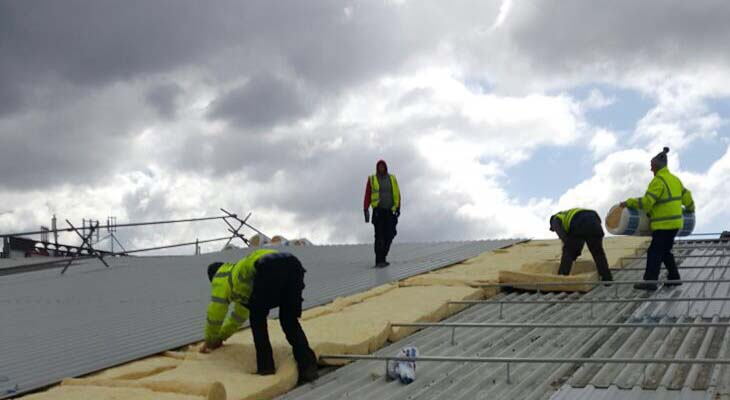 Industrial roofing installers in Birmingham
