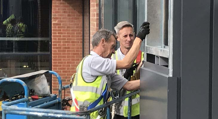 Coverclad approved wall cladding installers