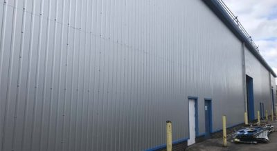 Finished rear elevation wall cladding repairs in Birmingham